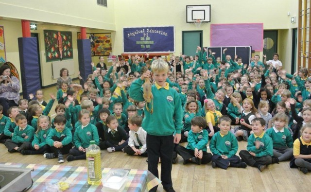 Children's Assembly at Moncrieff Primary in Perth