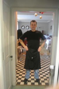 Marek, the kitchen porter,  from 63 Tay Street in Perth