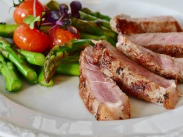 Veal with Asparagus